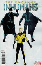 Uncanny Inhumans #1 1:20 McNiven Design Variant Marvel 2015 Anad
