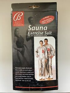 Bally Total Fitness 1998 SAUNA EXERCISE SUIT One Size Fits All BRAND NEW NIB
