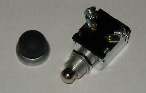 Push Button Start Switch w/ Black Rubber Button cover 3 Year Warranty a