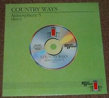 MUSIC LIBRARY MUSIC HOUSE country ways,atmosphere 5 JOHN CAMERON 1988 UK STEREO