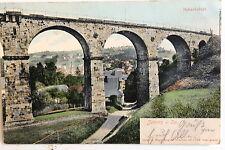 24227 AK Sebnitz Bahnviadukt für Eisenbahn Brücke 1907
