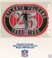 1990 ATLANTA FALCONS NFL FOOTBALL 25TH YEAR ANNIVERSARY PATCH WILLABEE WARD