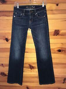 American Eagle Favorite Boyfriend Stretch Jeans Women's Juniors Size 2 Regular