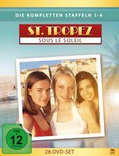 ST.TROPEZ-SOUS LE SOLEIL - STAFFEL 1-4 BOX 28 DVD - ADELINE BLONDIEAU -  NEU