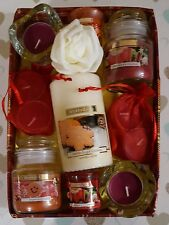 CHRISTMAS SCENTS GIFT HAMPER PRESENT MULLED WINE GINGERBREAD WICKFORD & CO JAR