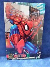 """1995 Flair Marvel Annual Spider Man 6 1/2 x 10"""" Flair Prints Jumbo Card"""
