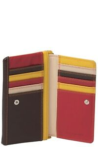 GABEE Sarah Zip Top Leather Wallet  All Wallets