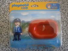 Playmobil 1.2.3  - 6795 Man with raft - Sealed NEW