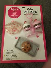 Justice Pet Shop Bakery Set Accessories for your plush pet! NEW in package