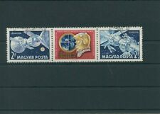 Hungary 1969 Mi. 2492-2493 a Postmarked Used Outer Space Aerospace (2)