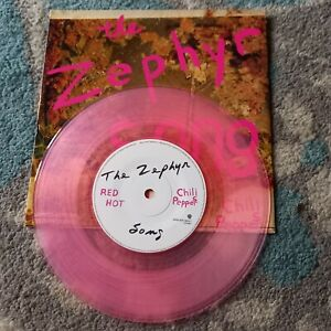"Red Hot Chili Peppers the zephyr song 7"" pink vinyl"