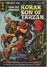 Korak Son of Tarzan Comic Book #5 Gold Key Comics 1964 FINE