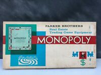 Vintage Monopoly Board Game by Parker Brothers 1961