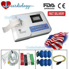 Digital One Channel 12 lead ECG Machine EKG Electrocardiograph US CONTEC CE FDA