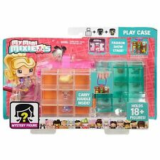 My Mini Mixie Q's PLAY CASE Fashion Show Stage - Holds 18+ Figures - Mattel -NIP