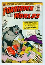 Forbidden Worlds #132 November 1965 VG Magicman Vs the Ancient Ape