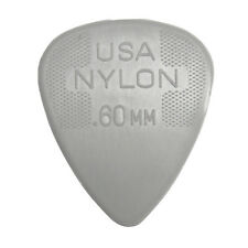 Jim Dunlop Nylon Guitar Picks - 0.60mm Gauge 12 Pack - Free Delivery