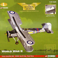 Corgi Aviation AA36302 Fairey Swordfish Mk I, HMS Ark Royal, 1939 Very Rare New