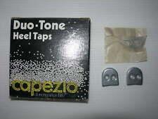 paire de FERS arrières (HEEL) CAPEZIO duo tone pour claquettes  - taille 9/Neufs