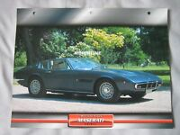 1969 Maserati Ghibli Dream Cars Card