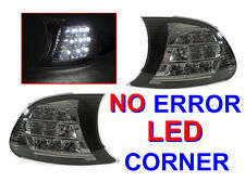 White LED Smoke Corner Signal Light For 00-01 BMW E46 2D Coupe/Cabrio & 2001 M3