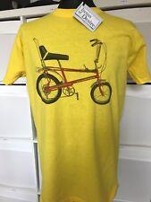 1970's Classic Raleigh Chopper on yellow tshirt
