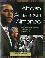 African American Almanac: 400 Years of Triumph, Courage and Excellence-ExLibrary