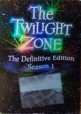 TWILIGHT ZONE Definitive Edition Season 1 DVD BOX SET DAMAGED OUTER SLIP COVER