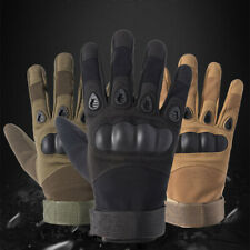 Tactical Hard Knuckle Gloves Men's Army Military Assault Combat Airsoft Patrol