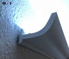 20 Metri LED Nastro Profilo Listello Per Illuminazione Indiretta XPS OL-7 Bianco