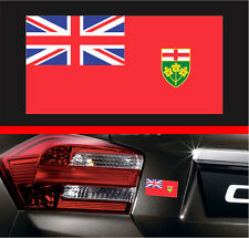 "4"" Ontario Canada Flag Vinyl Decal Bumper Sticker Car Sticker Maple Leaf Macbook"