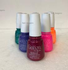 Gelaze China Glaze LED UV Nail Gel Color Polish 0.5 oz -YOUR PICK!