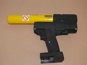 Rems Akku-Ax-Press 25 L- 22V ACC Axialpresse für Druckhülsen