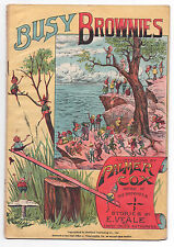 Palmer Cox Busy Brownies 1896 Promotional Platinum Comic Book Giveaway