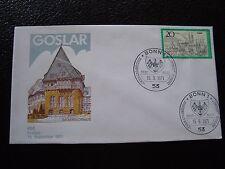ALLEMAGNE (rfa) - enveloppe 1er jour 15/9/1971 (B8) germany