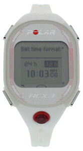 Polar Womens RCX3 GPS Womens Sports Watches Size OSFM, Color: White/Pink