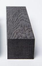 "DARK BROWN  bog oak (morta, wood) blocks for knife handles:1.3""x1.96""x5.31"""
