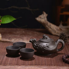 Yixing tea set Kung Fu Tea pot Chinese dragon Zisha teapot Ceramic pot 155cc