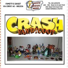 Prima e seconda serie complete action Figure Crash Bandicoot 12 personaggi