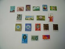 18 early United Nations stamps (Geneva)