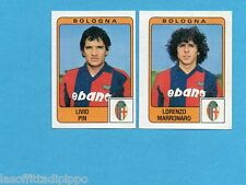 PANINI CALCIATORI 1984/85 -FIGURINA n.333- PIN+MARRONARO - BOLOGNA -Rec