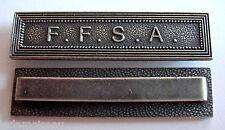 Barrette F.F.S.A (Forces françaises stationnées en Allemagne) pour médaille.