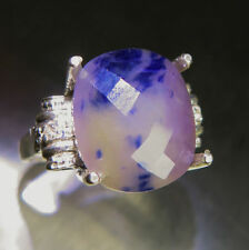 Cushion Sapphire Natural Not Enhanced Fine Gemstone Rings