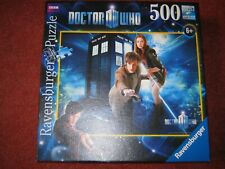 DR WHO 500 Piece RAVENSBURGER JIGSAW PUZZLE Matt Smith 11th Doctor Amy Pond NEW