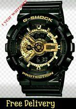 Casio G-Shock analogue/digital mens black/gold series GA-110-1B Wristwatch