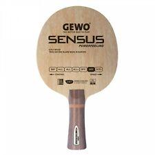 Gewo Sensus Powerfeeling table tennis blade, FL handle
