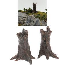 1pcs Miniatures Simulation Sand Table Tree Stump Landscape DIY Figurine D.lo
