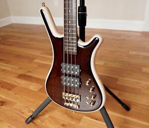 Warwick Custom Shop Masterbuilt 4-String Bass Guitar — Corvette $$