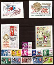 RUSSIE-URSS non dentelés: Tous les sports d'équipes et individuels   F25