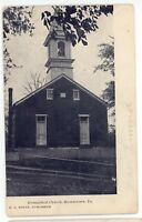Evangelical Church at BROWNSTOWN PA Lancaster County Pennsylvania Postcard